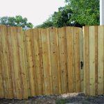 Jacksonville Wooden Fence Door