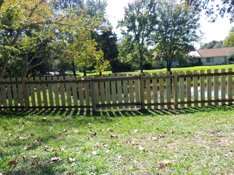 fenced in yard in jacksonville fencepro inc