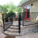 Jacksonville FL Black Gated Fence