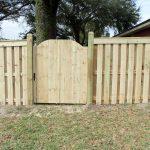 Wooden Fence Door