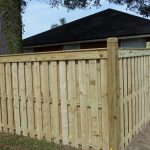 Intricate Wooden Fence Design