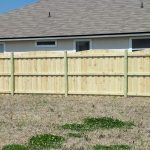 Treated Wooden Fence Complete 4