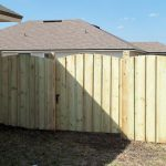 Treated Wooden Fence Complete 3