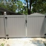 Newly Installed Swimming Pool Fence Gate