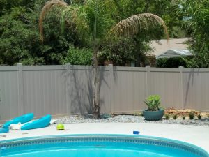 Newly Installed Swimming Pool Fence 2