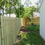 Inside Yard with New Fencing