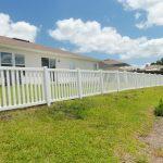 Idyllic White Fence in Jacksonville